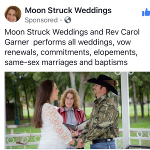 Moon Struck Weddings - Wedding Officiant in Seguin, Texas