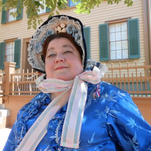 Mrs. Abraham Lincoln - Historical Character in Bartlett, Illinois