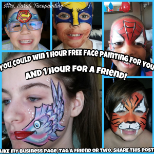 Mrs. Sarah Facepainting - Face Painter in Woodstock, Ontario