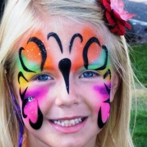 Ms Fancy Paints and The Color Crew - Face Painter / College Entertainment in Peoria, Illinois