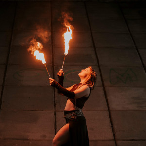 Kaura: LED & Fire Performance Art - Fire Performer in Ottawa, Ontario