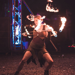 Multi-prop Fire Dancing - Fire Performer in Lancaster, Pennsylvania