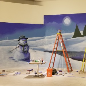 Murals and handpainted backdrops - Fine Artist in Hudson Valley, New York