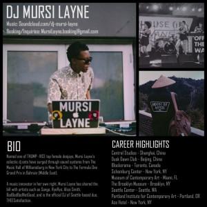 Mursi Layne - DJ / College Entertainment in Brooklyn, New York