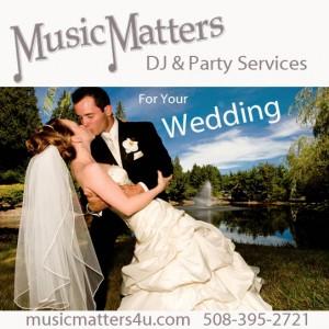Music Matters DJ & Party Services - Wedding DJ in Millis, Massachusetts