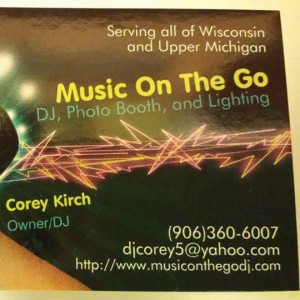 Music On The Go - Mobile DJ in Marquette, Michigan
