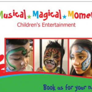 Musical Magical Moments Entertainment - Face Painter in Los Angeles, California
