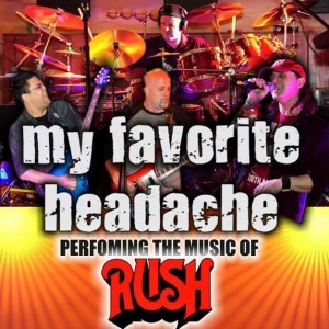 My Favorite Headache - A RUSH Tribute - Rush Tribute Band in Toronto, Ontario