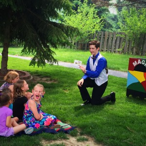 Mysterious Hayes - Children's Party Magician / Halloween Party Entertainment in Omaha, Nebraska