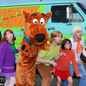 Mystery Incorporated - Costumed Character in Muncie, Indiana