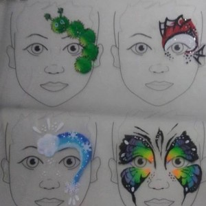Mystical face paintings - Face Painter / College Entertainment in Chicago, Illinois