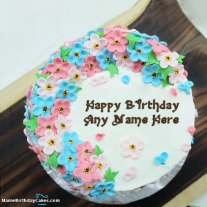 Name Birthday Cakes - Cake Decorator in Indian Lake, New York