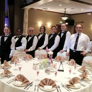 Napa Valley Event Staffing - Waitstaff in Napa, California