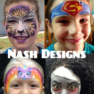 Nash Designs - Face Painter in White, Georgia