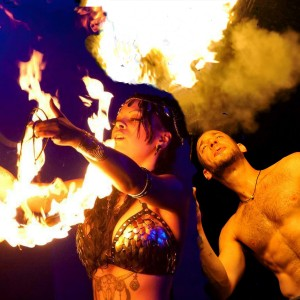 Hopes Fire Fantasies / Natalie Hope - Fire Performer / Wedding Photographer in Sands Point, New York