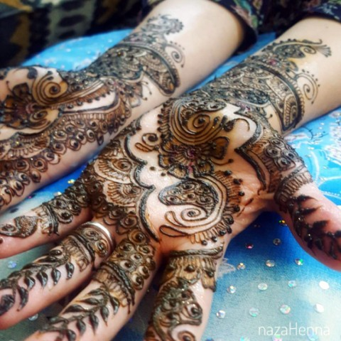 Hire nazahenna henna tattoo artist in fort lauderdale for South florida tattoo