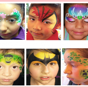 Face Painting WNC - Face Painter / Makeup Artist in Asheville, North Carolina