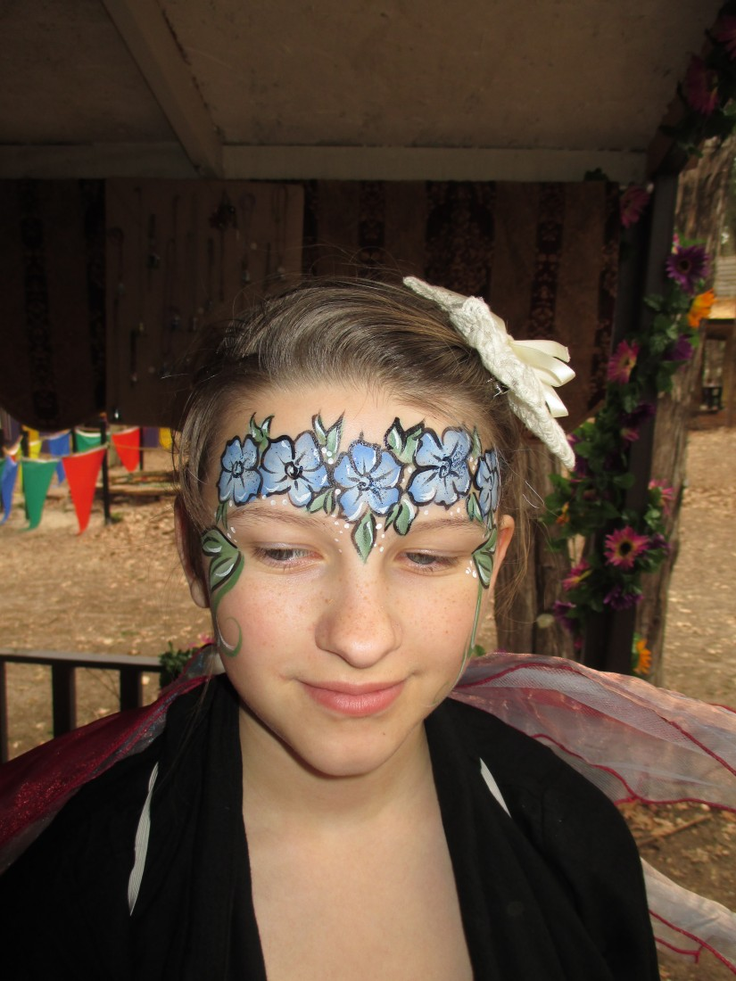 Hire nefaerieous faces face painter in houston texas for Cheap face painting houston