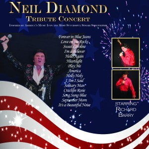 Neil Diamond Tribute by Richard Barry - Neil Diamond Tribute in Dallas, Texas