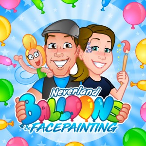 Neverland Balloons and Facepainting - Balloon Twister in Houston, Texas