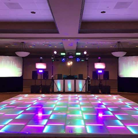 Hire New England Lighted Dance Floor Rentals Lighting