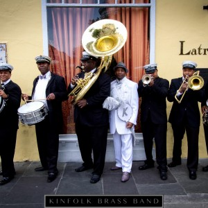 New Orleans Kinfolk Jazz Band - Brass Band / Wedding Band in New Orleans, Louisiana