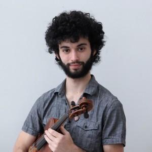 Nic Vigilante - Viola Player in Burlington, Vermont