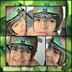 Nichole West - Face Painter in Waterbury, Connecticut