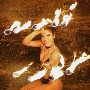 Victori Performance Art - Fire Dancer in San Diego, California