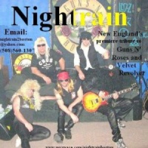 Nightrain - Tribute Band in Norwood, Massachusetts