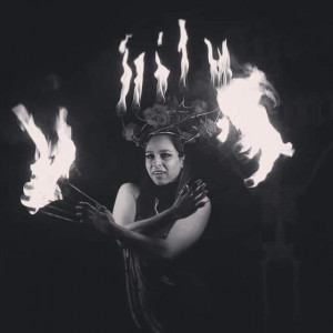 Nikki Talis - Fire Eater / Holiday Entertainment in New York City, New York