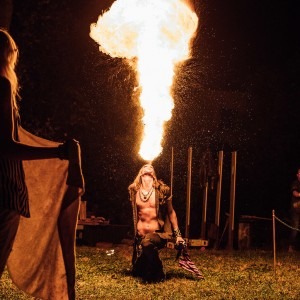 Nique - Fire Performer in Travelers Rest, South Carolina