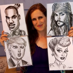 Noa's Art Caricatures - Caricaturist / Wedding Entertainment in Providence, Rhode Island