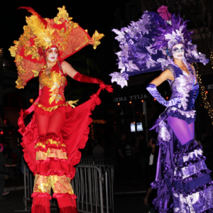Nomad Artz Stilt Walkers - Stilt Walker / Fire Dancer in San Diego, California