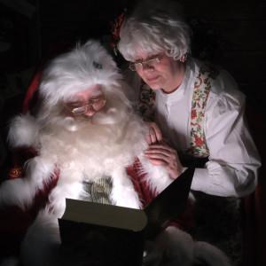 North Pole Syracuse- Santa and Mrs Claus