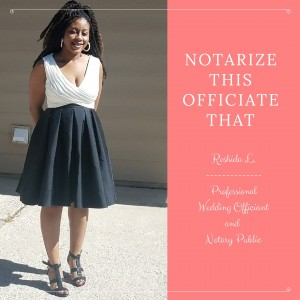 Notarize This Officiate That - Wedding Officiant / Wedding Services in Colorado Springs, Colorado