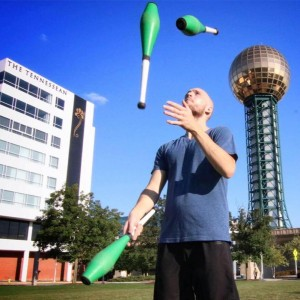 NP juggles - Juggler / Fire Performer in Knoxville, Tennessee