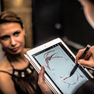 Drawing Booth - Caricaturist in New York City, New York