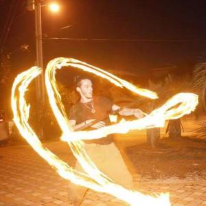 Obi One - Fire Performer in Sugar Hill, New Hampshire