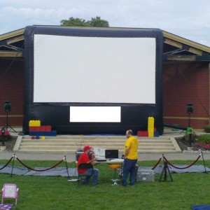 Ohio Outdoor Movies - Outdoor Movie Screens / Video Services in Columbus, Ohio