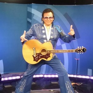 Ojibway Elvis and the Vegas Thunder Band - Elvis Impersonator in Winnipeg, Manitoba