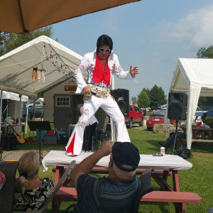 Old E but Good E - Elvis Impersonator in Buckhannon, West Virginia