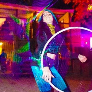 Olive Flow - Hoop Dancer in New Orleans, Louisiana