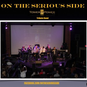 On the Serious Side-Tower of Power tribute band