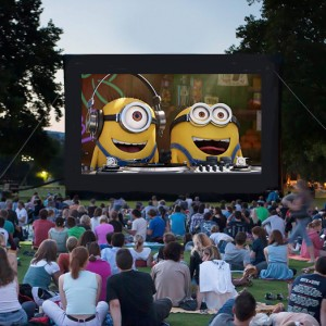 Open Air Pix - Outdoor Movie Events - Outdoor Movie Screens / Outdoor Party Entertainment in Evans, Georgia