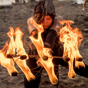 Oraura Fluxx: Fire & LED Performance - Fire Performer in Vancouver, British Columbia
