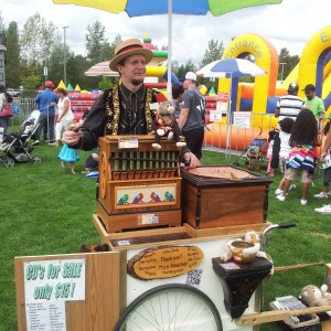 Organ Grinder - 1920s Era Entertainment / Variety Entertainer in Surrey, British Columbia