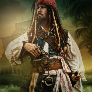Orlando's Captain Jack - Johnny Depp Impersonator in Orlando, Florida