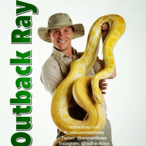 Outback Ray's Amazing Animal Show - Animal Entertainment / Christian Speaker in Akron, Ohio