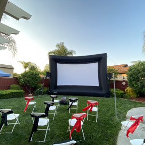 Outdoor Inflatable Screens - Outdoor Movie Screens / Halloween Party Entertainment in Valley Center, California